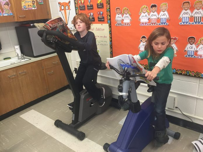 Hopewell Elementary School Teacher Starts Read and Ride Program