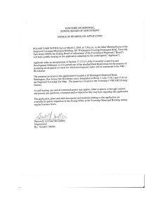 Notice of Hearing on Application JPEG