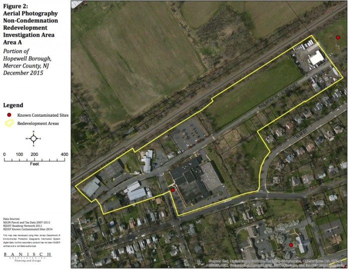 Hopewell Borough Redevelopment Areas Considered by Council