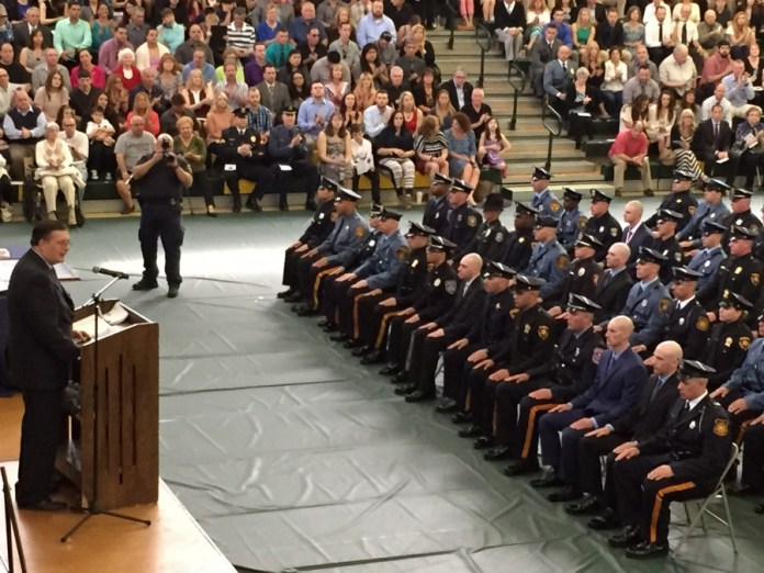 Mercer County Police Academy Graduates 14th Class of Police Officers