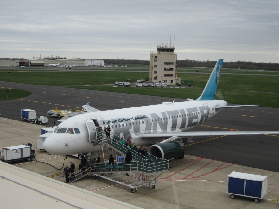 Frontier Airlines Seeks New Lease with Trenton-Mercer