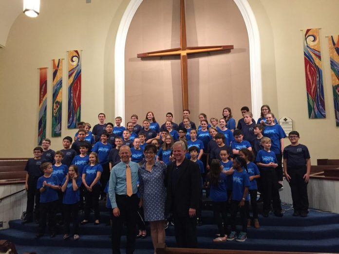 Hopewell Valley Youth Chorale Hosted the Arizona Boy Choir