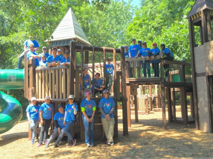 Bristol-Myers Squibb Employees Offer Helping Hands to Sourland Conservancy