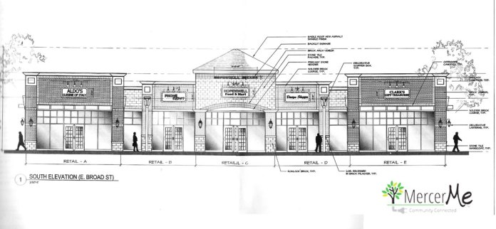 Strip Mall on Broad Street: Hopewell Considers Revised Plan