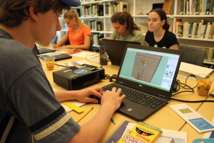 High School Students Take on Green Architecture at SBMWA