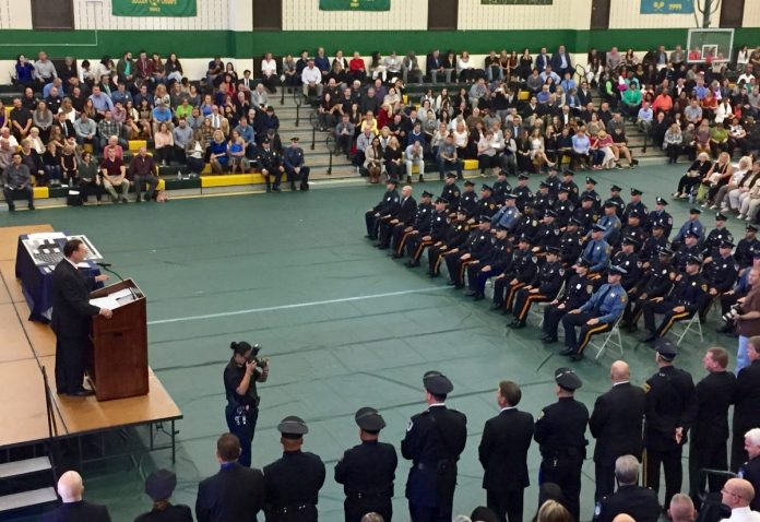 Mercer County Police Academy Graduates 15th Class of Police Officers