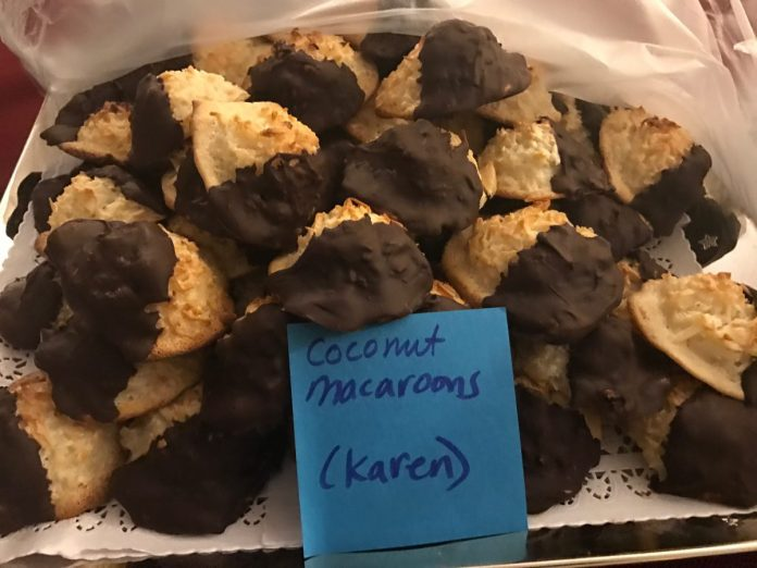 MercerMe Hosts 2nd Annual Cut Throat Cookie Exchange, A Contest with Delicious Results