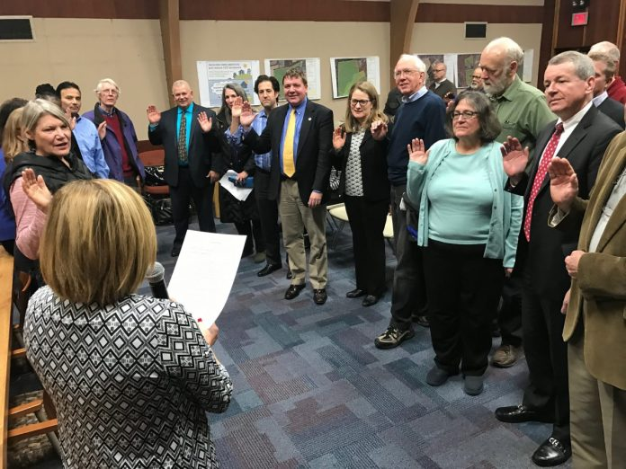 Hopewell Township Committee Reorgs, Names Mayor and Deputy Mayor for 2017