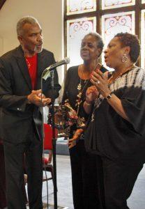 Image result for Beverly Mills, Elaine Buck, and John Buck.