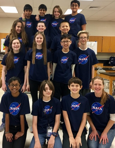 Timberlane Middle School Competes at NASA's Space Center