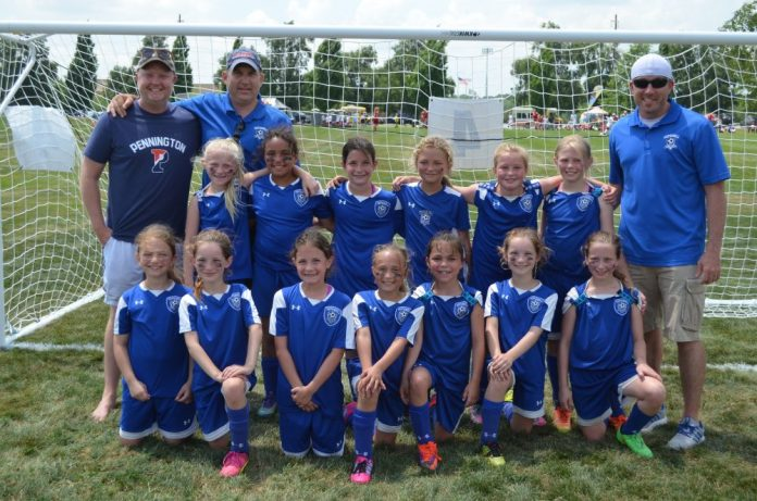 Hopewell Valley Dust Devils win U9 and U10 Brackets at Hershey