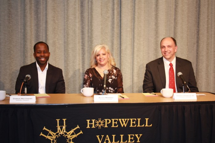 Hopewell Valley Board of Education Candidates Participate in Forum