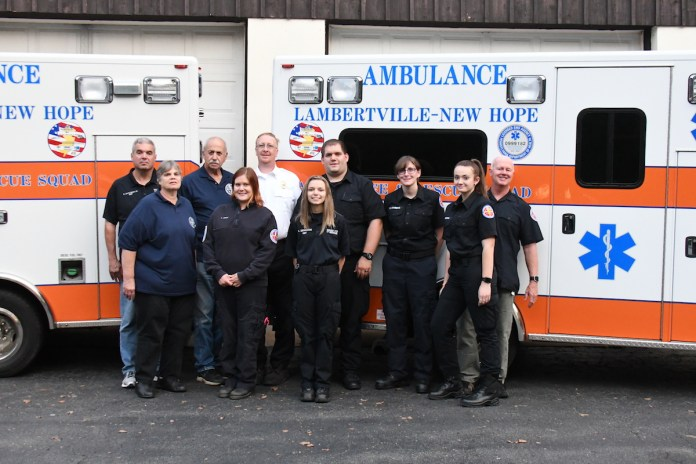 Lambertville-New Hope Ambulance and Rescue Squad Launches Recruitment Campaign