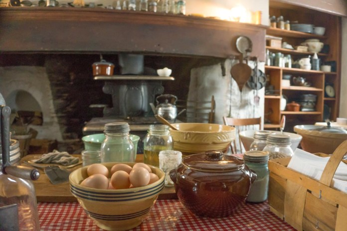 Winter Kitchen Program to be Held at Howell Living History Farm