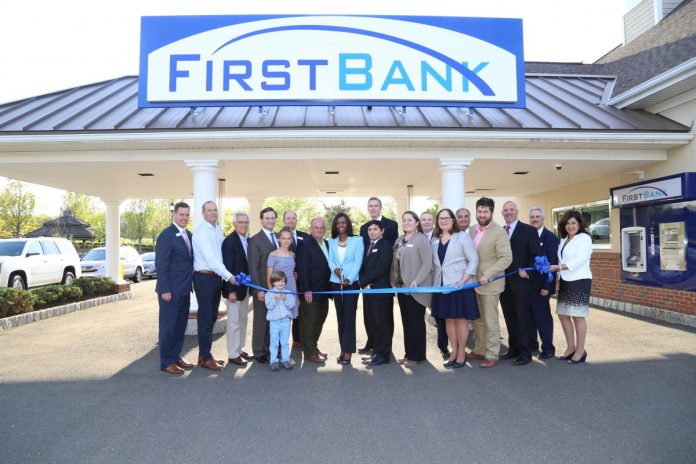 First Bank Celebrates Grand Opening of Pennington Branch
