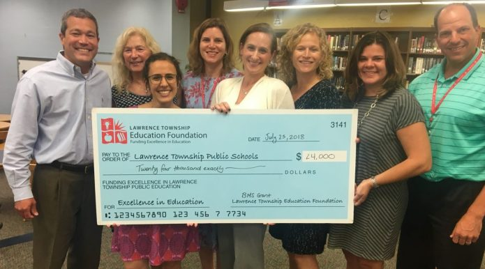 Lawrence Township Ed Foundation Awarded Grant from BMS to Foster Engineering Education