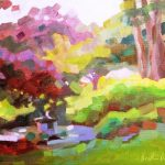 Heather Barros D&R Greenway Garden framed