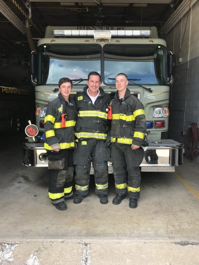 Meet the Firefighting Families of Hopewell Valley (Part 1)