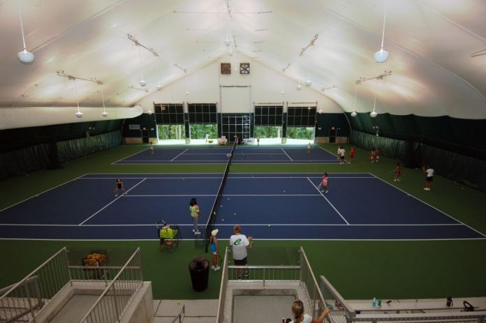 Mercer County Tennis Center Honored for Excellence as USTA Facility Award Winner