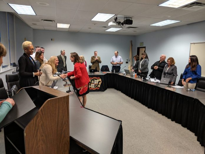 Board of Education Honors Teacher Awards, Updates on Contract Dispute