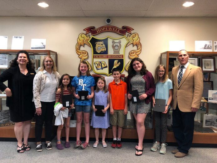 Student EcoWarriors Recognized by HVRSD and FoHVOS