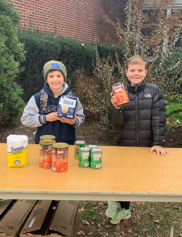 Toll Gate students bring Thanksgiving to TASK