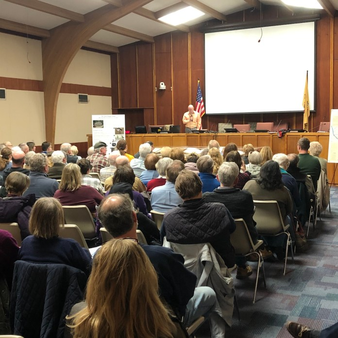 Hopewell packs town hall to celebrate history