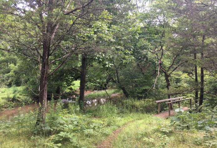 Trail access to St. Michaels Farm Preserve open at Aunt Molly Road