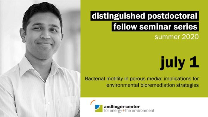 Distinguished Postdoctoral Fellow Seminar Series – Summer 2020