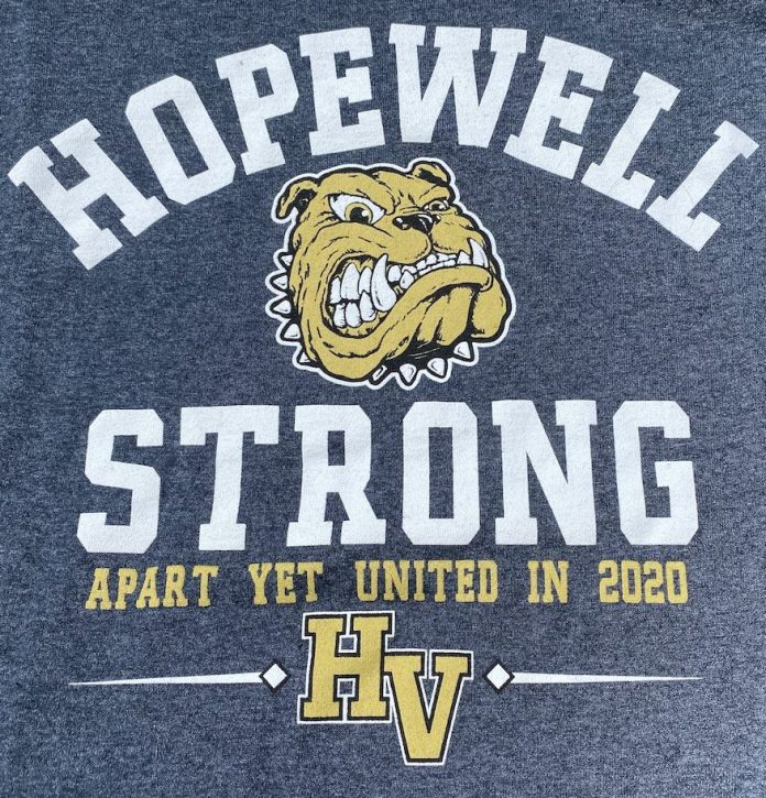 """HVCHS Class of 2022 helps keep HV businesses """"Hopewell Strong"""""""