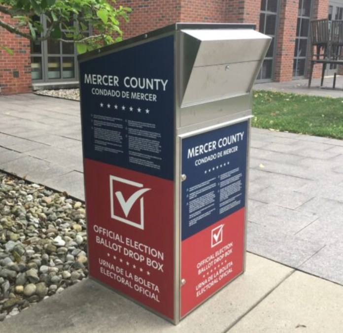 Mercer County announces additional secure ballot boxes for November 3 election