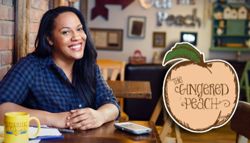 Gingered Peach owner Joanne Canady-Brown, honored with community service award