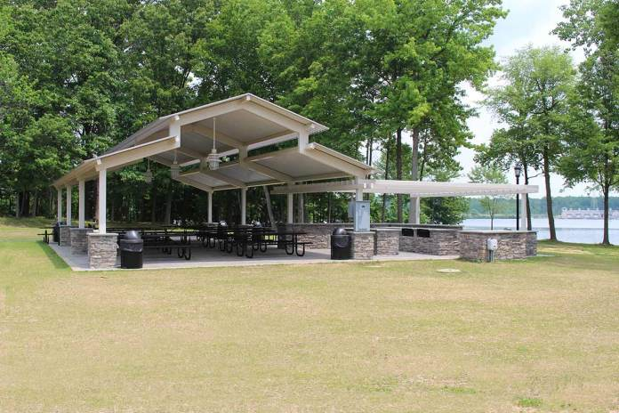 Mercer picnic pavilions available for rent