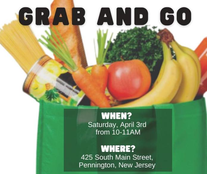 Hopewell Valley Mobile Food Pantry grab and go event Saturday