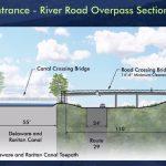 River Road pedestrian bridge Quarry