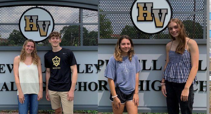 HVCHS grads awarded scholarships by HV Soccer