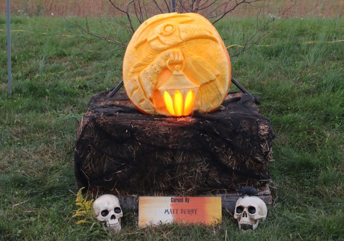 Drive-thru the 7th Annual Amazing Pumpkin Carve for fall fun in Hopewell Valley