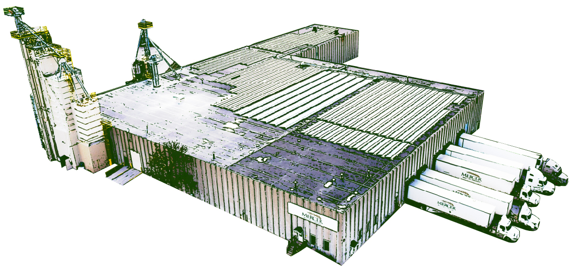 Facilities Aerial Line Drawing