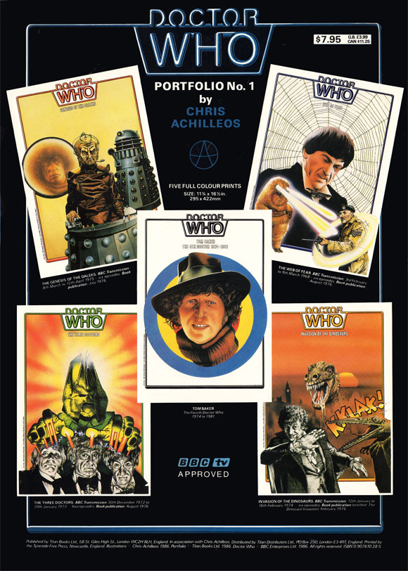 yesteryear prints doctor who