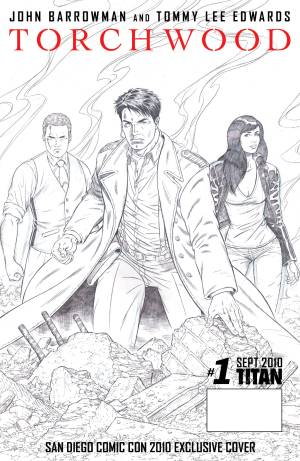 Torchwood Comic Issue One