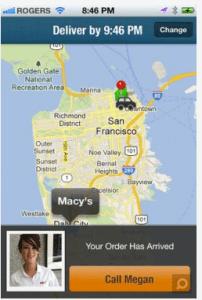 La géolocalisation sur eBay Now