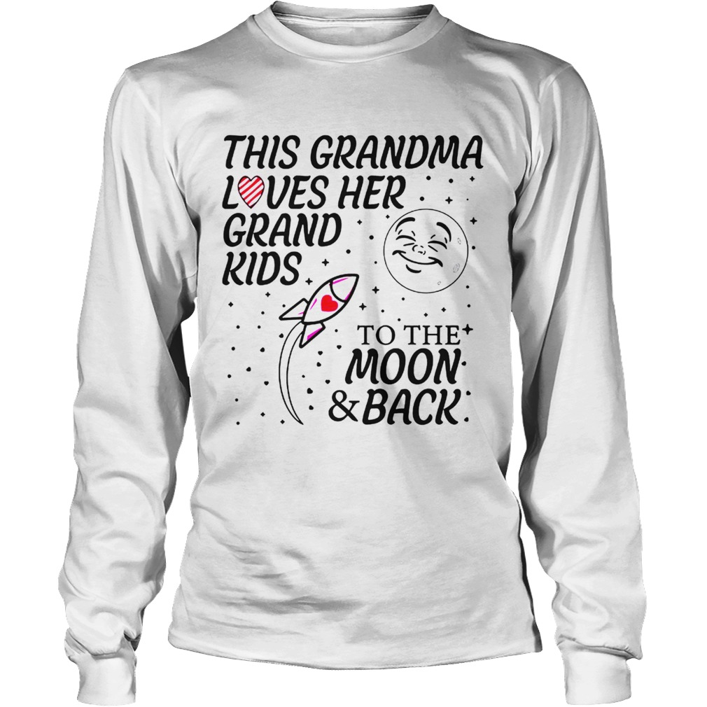 This Grandma Loves Her Grandkids To The Moon And Back ...