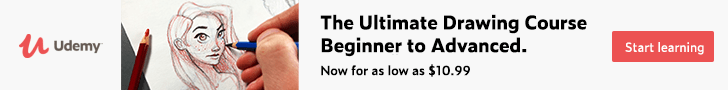 *The Ultimate Drawing Course - Beginner to Advanced. Now for as low as $10.99 border=