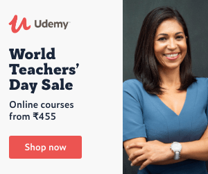 World Teachers' Day Sale. Online courses from ₹ 455 udemy paid courses free