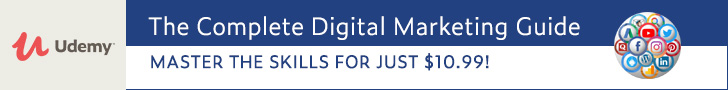 *The Complete Digital Marketing Guide - 17 Courses in 1. Master the skills for just $10.99!