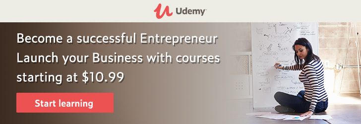 *Become a successful Entrepreneur. Launch your Business with courses starting at $10.99