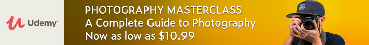 *Photography Masterclass: A Complete Guide to Photography. Now as low as $10.99.