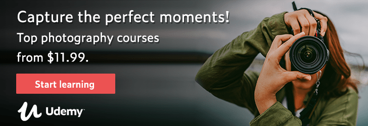*Photography focus: Capture the perfect moments! Top photography courses from $11.99