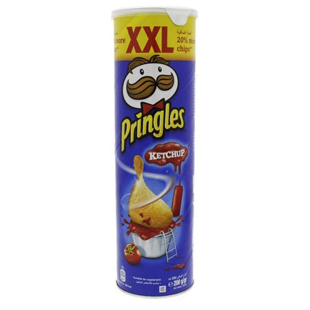 InfiShop. Pringles Ketchup Flavoured Chips XXL 200g