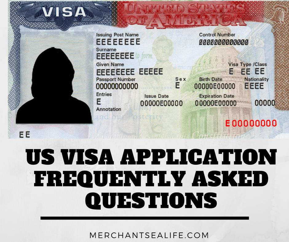 US Visa for Seafarers Frequently Asked Questions - Merchant